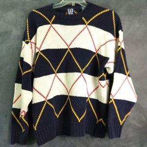 GAP | Vintage Chunky Knit Men's Sweater Size Large